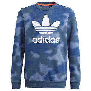 Junior Boys' [8-16] Camo Print Crew Sweatshirt