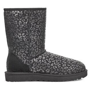Women's Classic Short Snow Leopard Boot