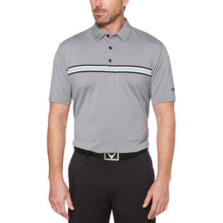 Men's Chest Stripe Polo