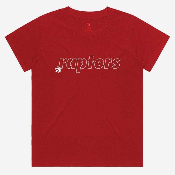 Women's Toronto Raptors Outline T-Shirt