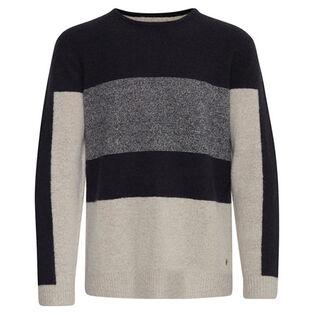 Men's Wool-Blend Blocked Sweater