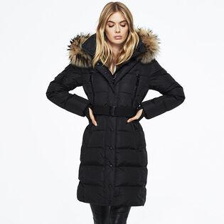 Women's Matte Infinity Coat
