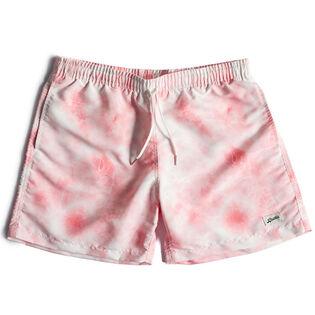 Men's Pink Shibori Swim Trunk
