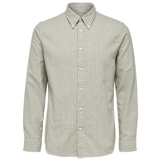 Men's Houndstooth Check Shirt