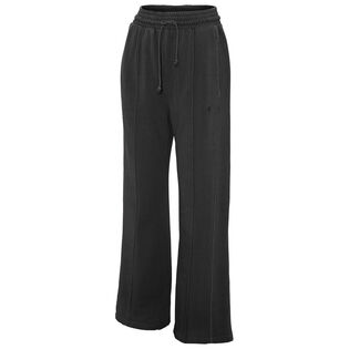 Women's Vintage Dyed High Waist Wide Fleece Pant
