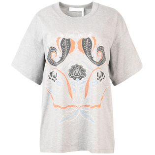 Women's Paisley Printed T-Shirt