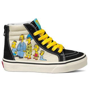 Kids' [11-3] The Simpsons Sk8-Hi Zip Shoe
