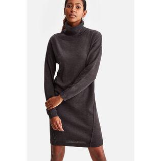 Women's Cozy Turtleneck Dress