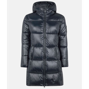 Women's Luck Hooded Maxi-Quilted Coat