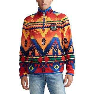 Men's Southwestern Fleece Pullover Sweater