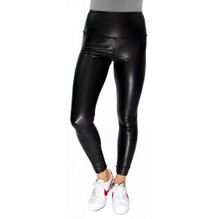 Women's Vegan Leather Legging