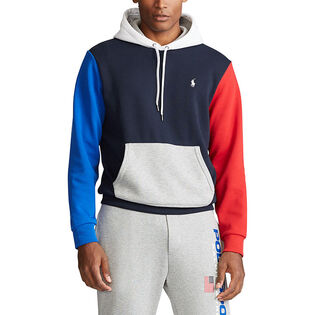 Men's Colourblocked Logo Hoodie