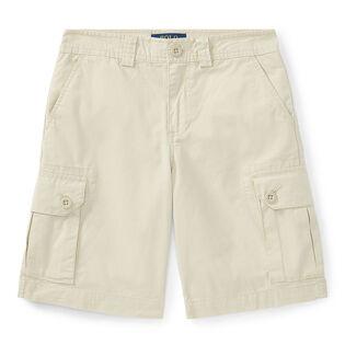 Short cargo en coton pour garçons juniors [8-20]