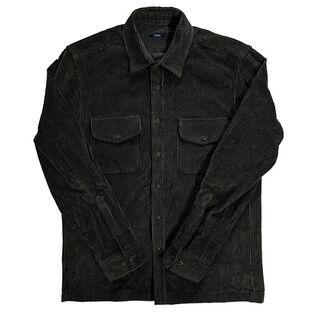 Veste-chemise en velours côtelé pour hommes
