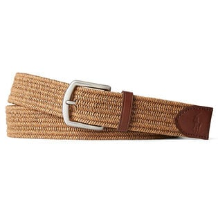 Men's Stretch Waxed Cotton Belt