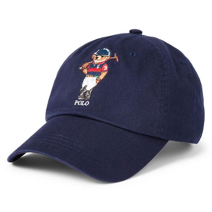 Casquette de baseball Polo Bear Chino unisexe