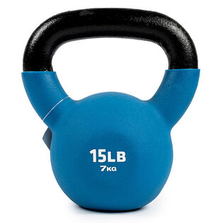 Neoprene-Coated Kettlebell (15 Lb)