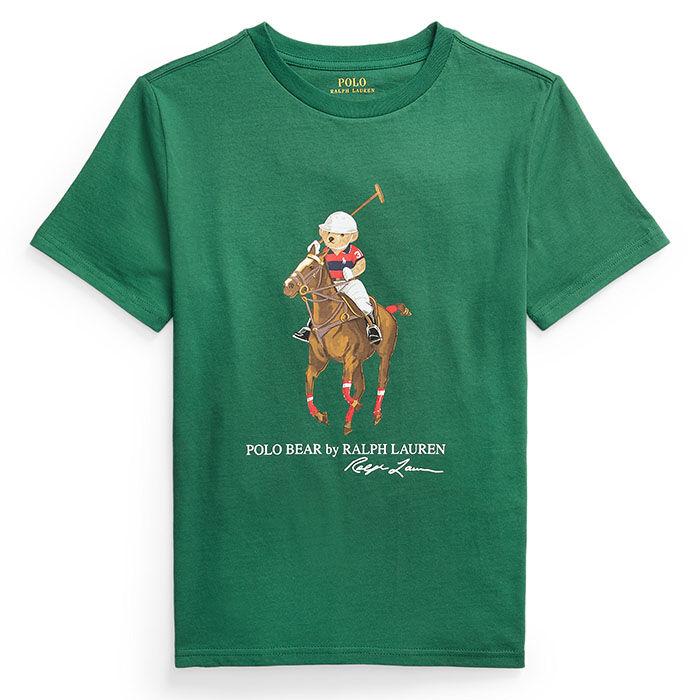 T-shirt Polo Bear et Big Pony en coton pour garçons juniors [8-20]