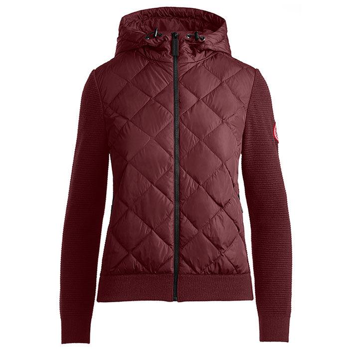 Women's HyBridge Quilted Knit Hoody Jacket