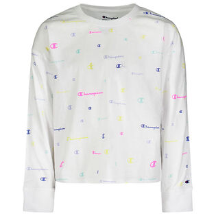 Junior Girls' [7-16] Boxy French Terry Crew Sweatshirt