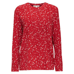 Women's Scattered Floral Blouse
