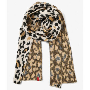 Foulard à motif léopard pour femmes
