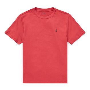Junior Boys' [8-20] Cotton Jersey Crew Neck T-Shirt