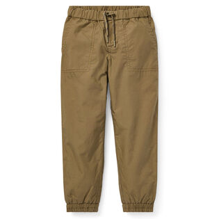 Boys' [5-7] Cotton Poplin Jogger Pant