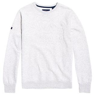 Men's Premium Goods Embossed Debossed Sweatshirt