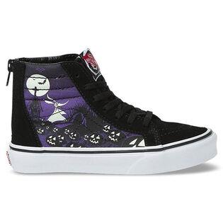 Kids' [11-3] Nightmare Before Christmas Sk8-Hi Zip Shoe