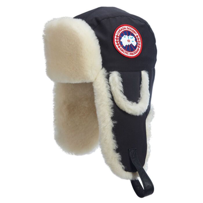 Men's Arctic Tech Shearling Pilot Hat