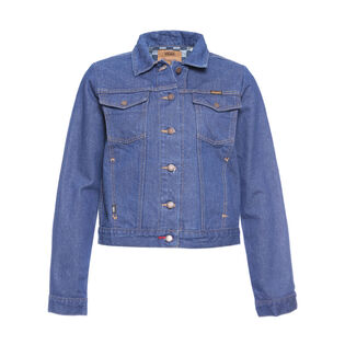 Women's Wrangler® Checkerboard Denim Jacket