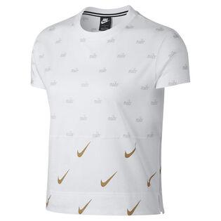 Women's Sportswear Metallic Crop T-Shirt
