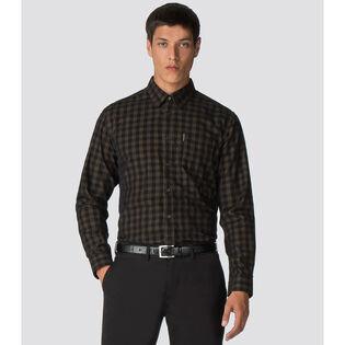 Men's Cord Gingham Shirt