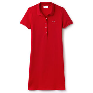 Women's Stretch Mini Pique Polo Dress