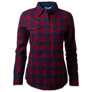 Chemise veste doublée de molleton Christi pour femmes