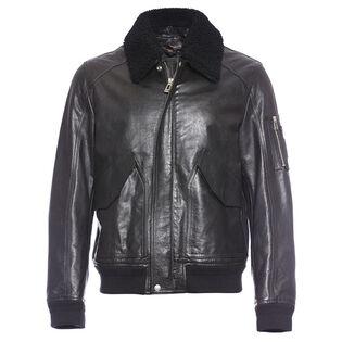 Men's Arne Leather Bomber Jacket