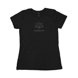 Women's Rhinestone Canada 150 T-Shirt