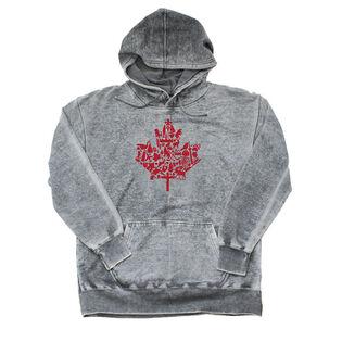 Unisex Canada Maple Leaf Hoodie