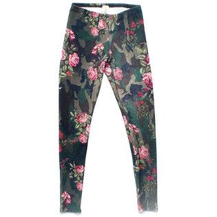 Junior Girls' [7-14] Floral Pant
