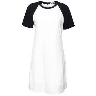 Women's Cotton Linen Baseball Dress