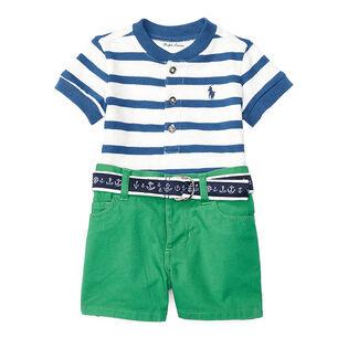 Baby Boys' [3-24M] Stripe Jersey Two-Piece Short Set