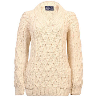 Unisex Fisherman's Knit Crew Sweater