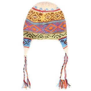 Women's Peruvian Ear Flap Beanie