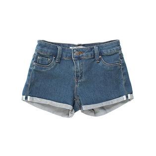 Junior Girls' [7-14] 5-Pocket Mini Roll Hem Short