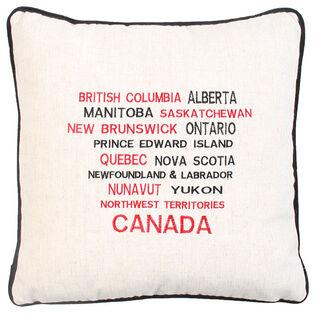Provinces Canada Pillow