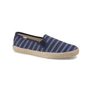 Women's Champion Slip On Breton Stripe Jute Shoe