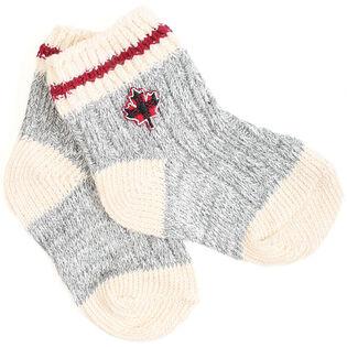 Babies' Canada Cabin Sock