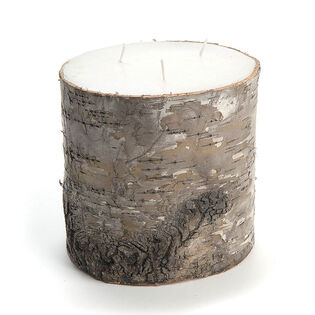 Birch Bark Candle (Large)