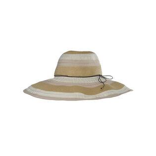 Women's Jeanne Paper Ribbon Brim Hat